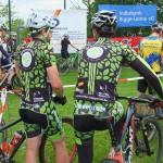 Gemeinsame Ausfahrt im greenzone biking Dress am 22.05.2016